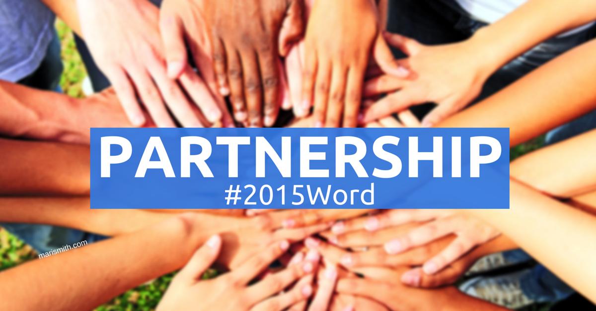 #2015Word - Partnership - Mari SMith