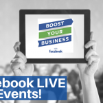 Facebook Boost Your Business LIVE Events