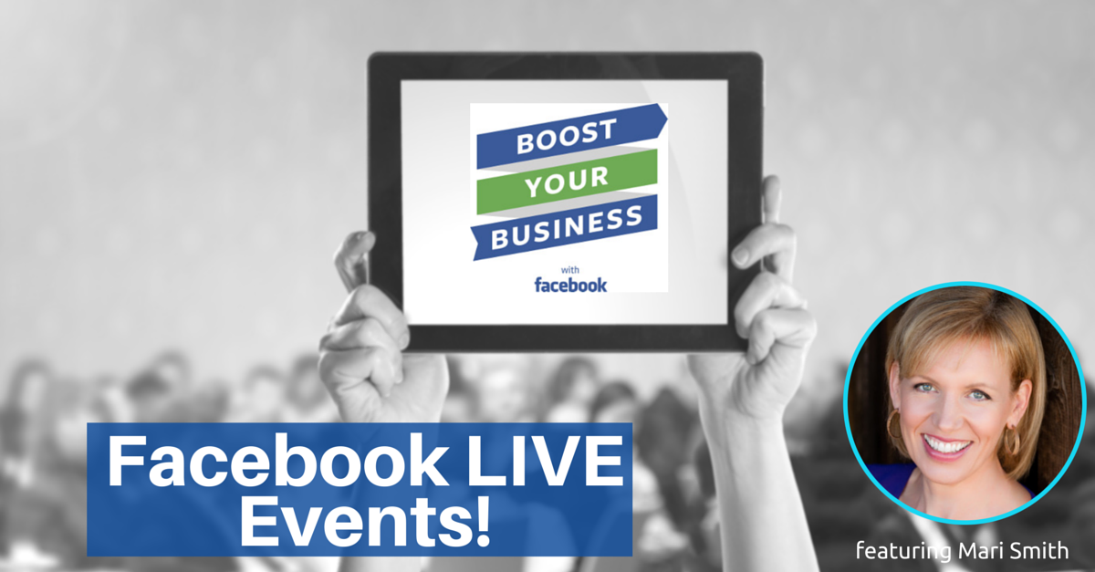 Facebook Announces Live Events for Small Businesses, Featuring Mari Smith