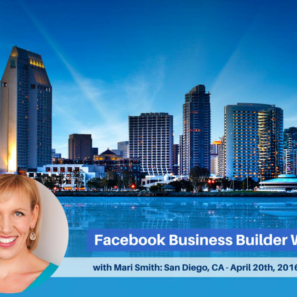 Facebook Workshop with Mari Smith, San Diego