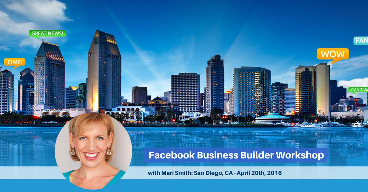 Facebook Workshop with Mari Smith, San Diego