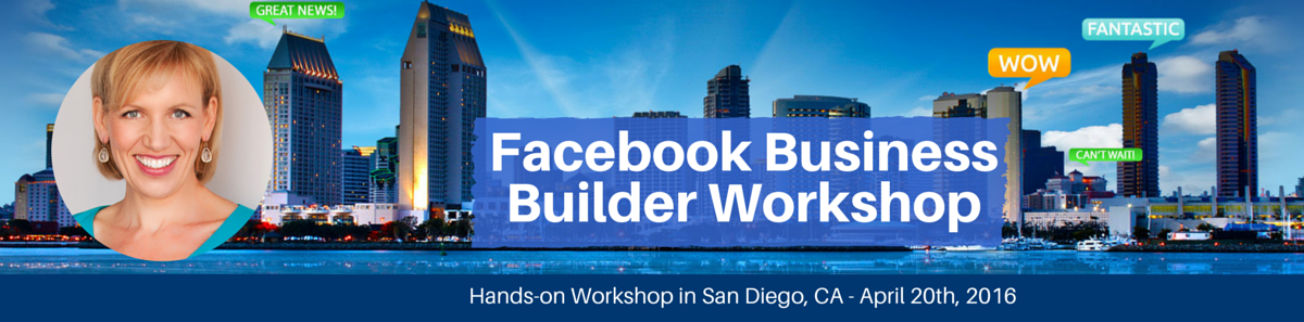 Facebook Marketing Workshop with Mari Smith - San Diego