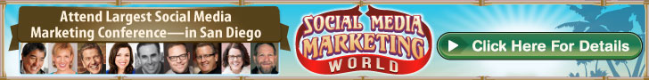 Get your Social Media Marketing World 2016 ticket!