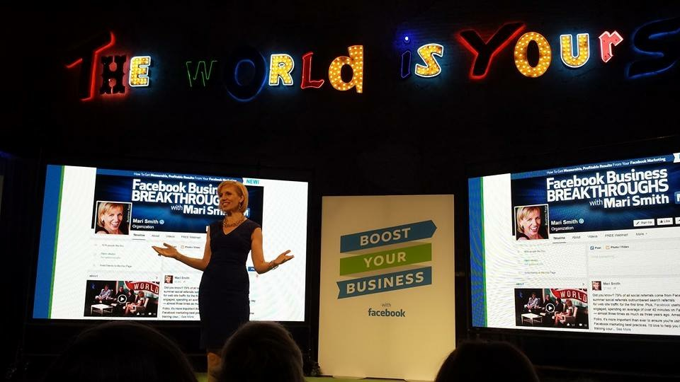 Mari Smith Facebook Boost Your Business Minneapolis