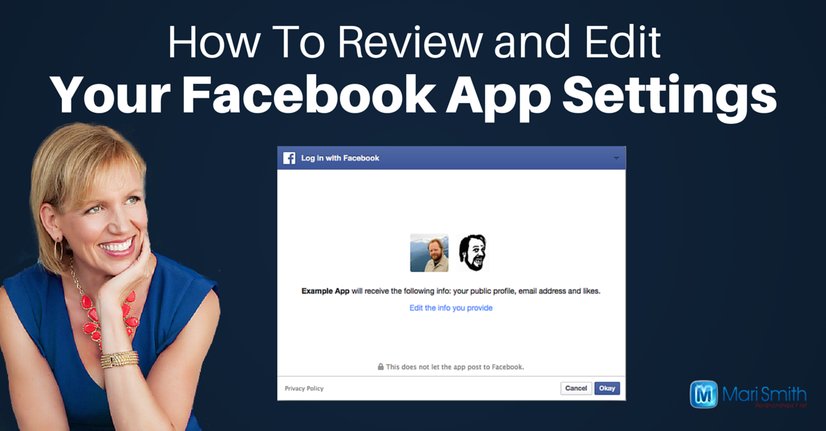How To Review & Edit Facebook App Settings