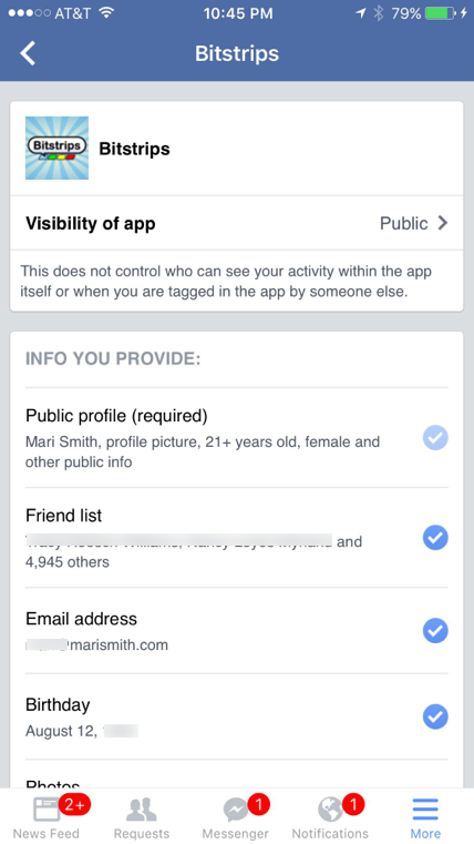 facebook app settings 6