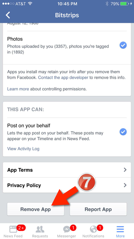 facebook app settings 7