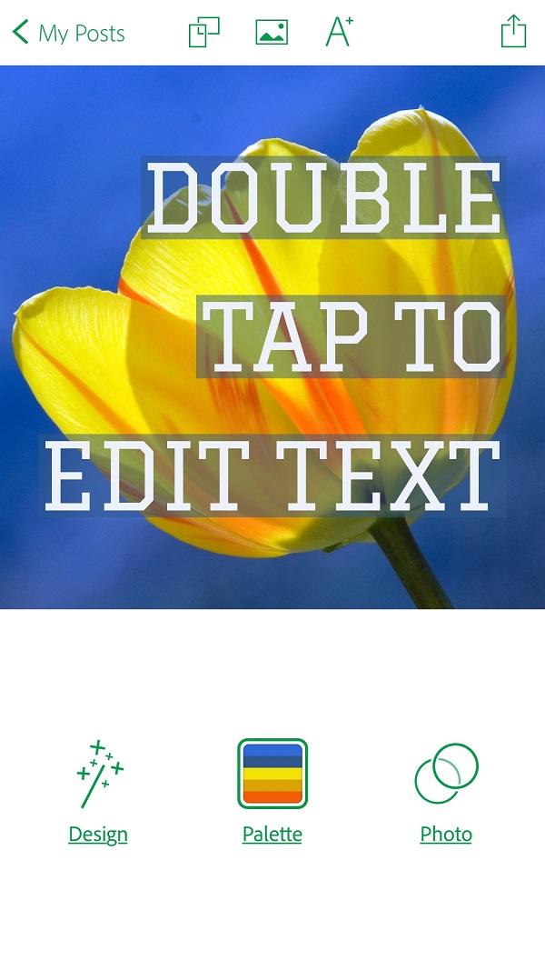 ms-adobe post 4 - add text