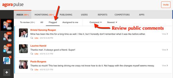 ms-agorapulse review comments