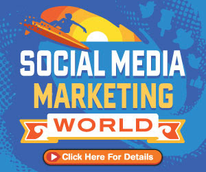 Social Media marketing world banner
