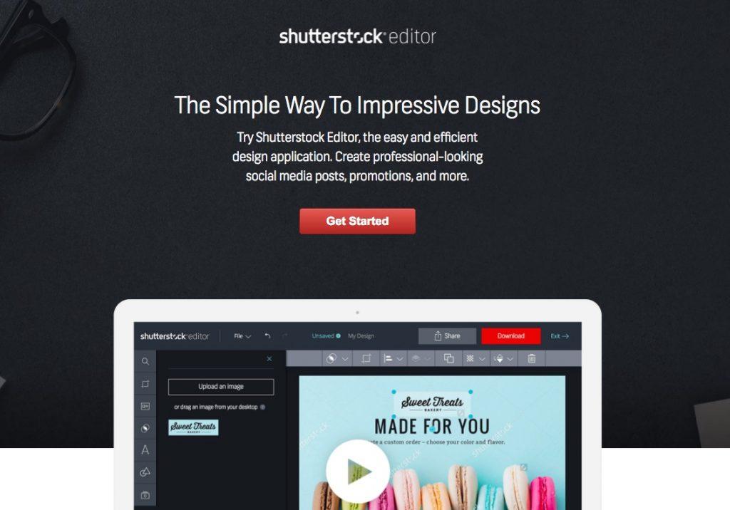 Shutterstock Editor Homepage