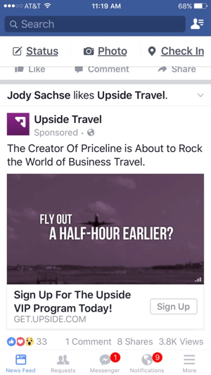 ms-upside-travel-facebook-video-ad