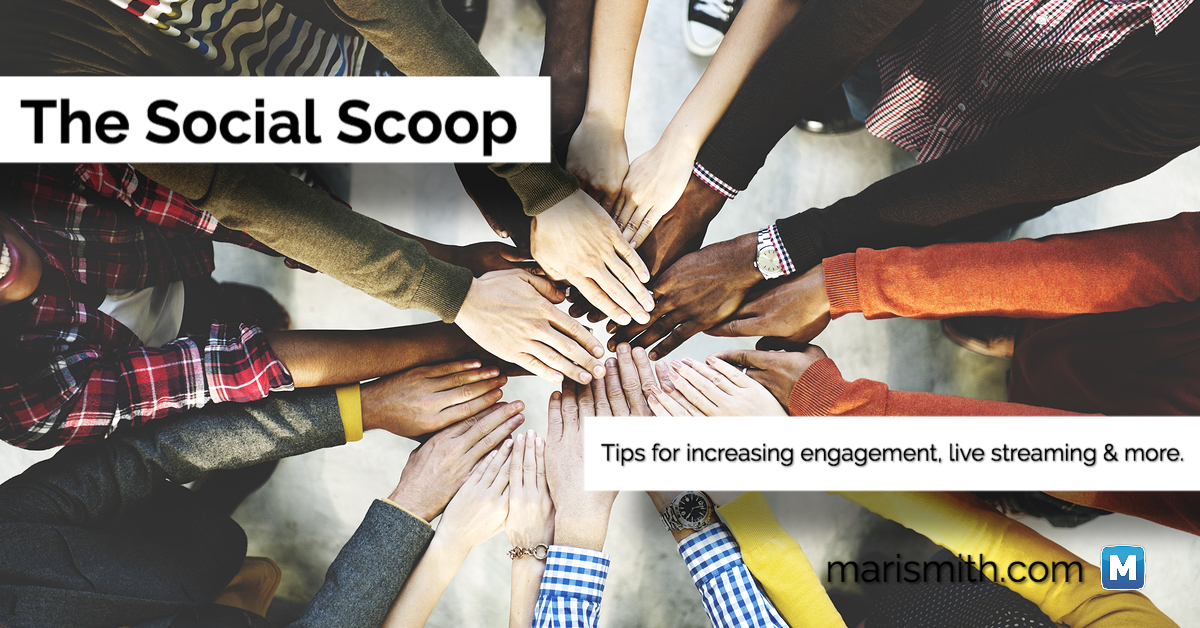 How to Increase Facebook Engagement, Amplify Brand Reach with Live Streaming & More: The Social Scoop 10/28/2016