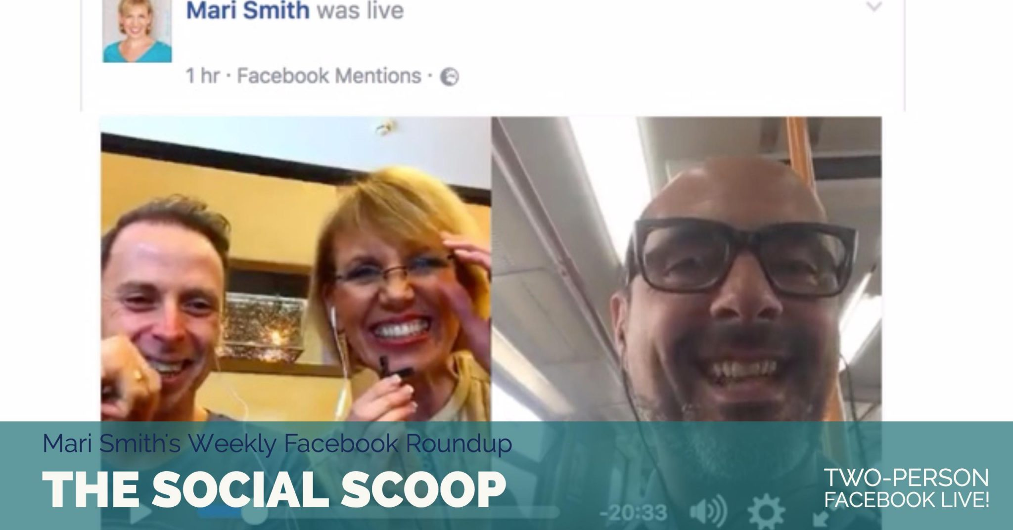 Two-Person Facebook Live, The Effect of Facebook Ad Campaigns & More: The Social Scoop 4/10/17