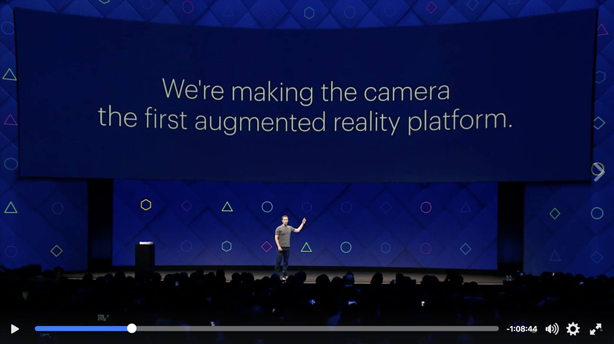 Mark Zuckerberg - Facebook Camera Platform