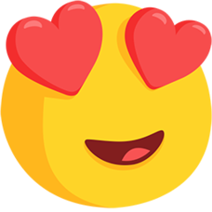 Heart Eyes Emoji Facebook Messenger