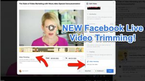 how to trim facebook live video