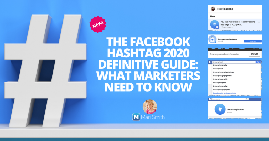 hashtags on facebook new organic reach and guide