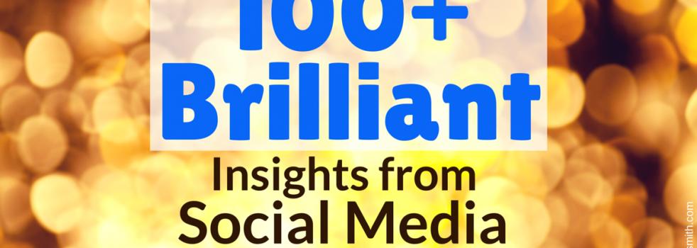 100+ Brilliant Insights From Social Media Marketing World 2015 #SMMW15