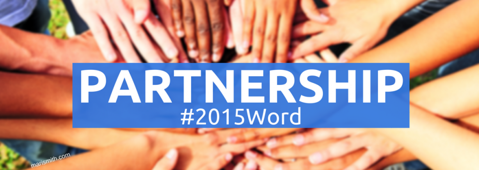 New Year 2015: One-Word Theme of PARTNERSHIP
