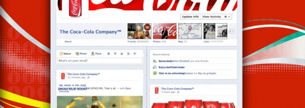 Coca-Cola Testing Facebook Timeline Brand Page?