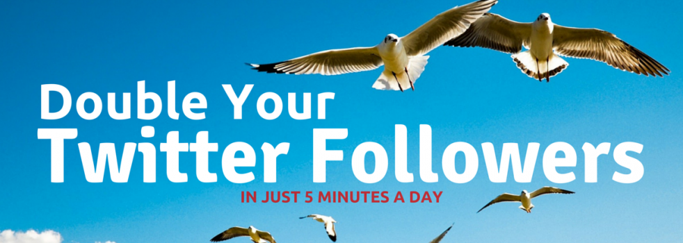 How To Double Your Twitter Followers In 5 Minutes A Day: The Social Scoop Issue 135