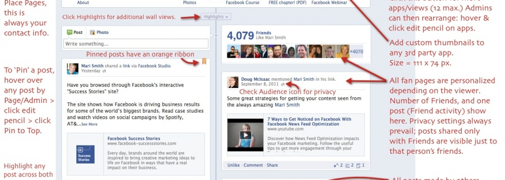 Facebook Timeline for Business Pages – 21 Key Points To Know