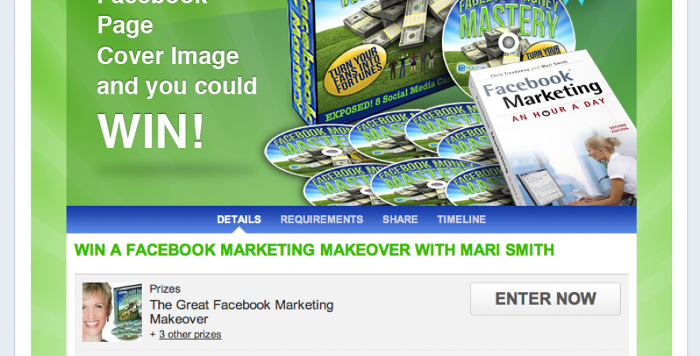 Win A Facebook Marketing Makeover: New Facebook Contest