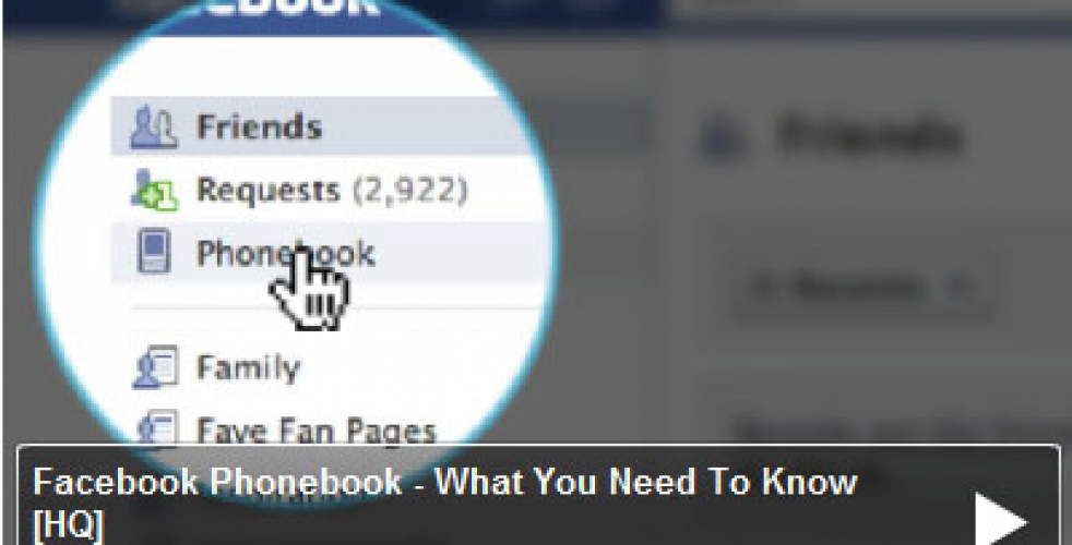 Facebook Phonebook – How Safe Is Your Cell Number?