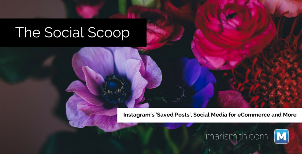 Instagram Saved Posts, Social Media for eCommerce and More: The Social Scoop 12/23/16