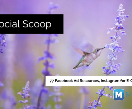 77 Facebook Ad Resources, Instagram for E-Commerce & More: The Social Scoop 4/22/17