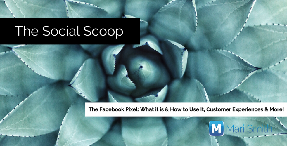 The Facebook Pixel: What It Is and How to Use It, Customer Experiences & More: The Social Scoop 4/29/17