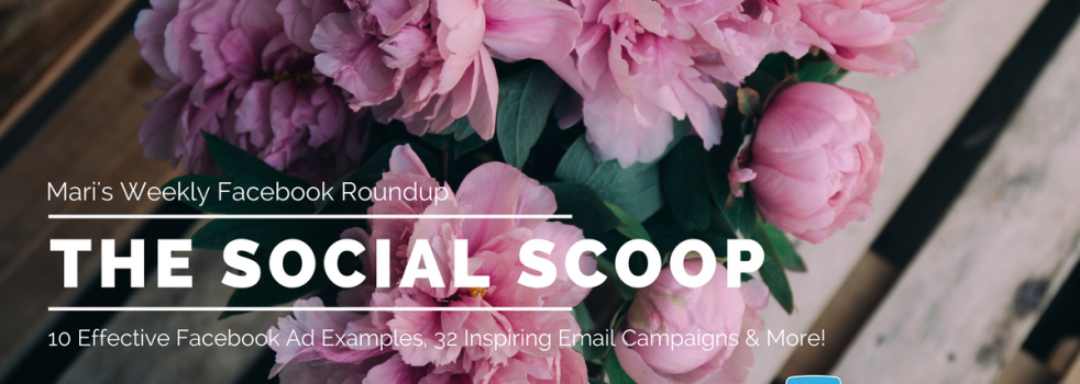 10 Effective Facebook Ad Examples, 32 Inspiring Email Campaigns & More: The Social Scoop 7/18/17
