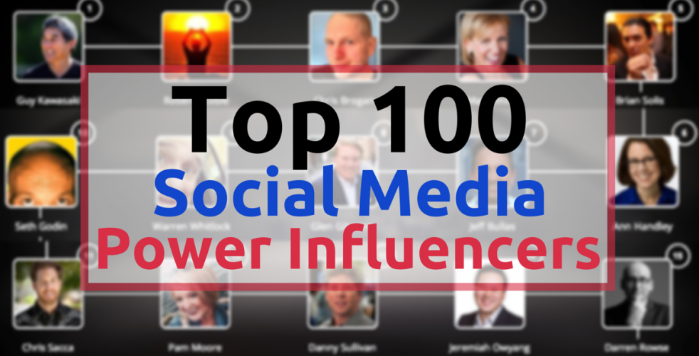 Top 100 Social Media Leaders On Twitter: The Social Scoop Issue 136
