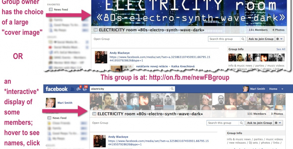 Facebook Groups Get A New Design — With Cover Image
