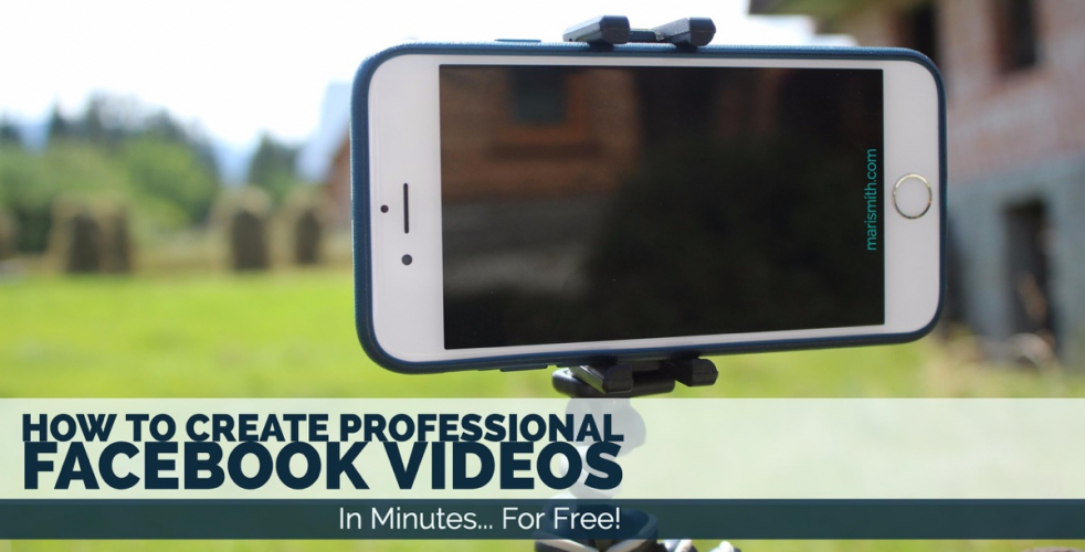 How To Create Professional Facebook Videos In Minutes For Free