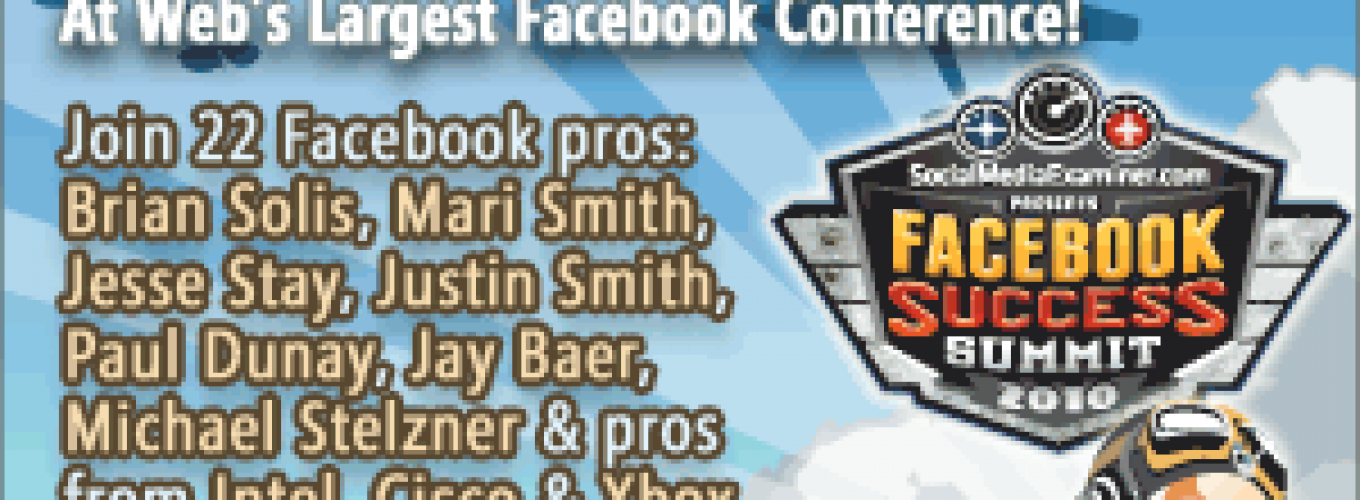 Largest Online Conference Helps You Master Facebook Marketing